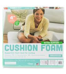 fairfield extra support cushion foam