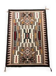 navajo storm pattern rug by katherine rivers 1960s