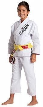 Storm Kimonos Kids Jiu Jitsu Gi Scout White