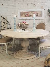 round farmhouse dining table painted cottage dining table sets