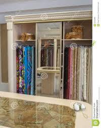 Fabric Store Interior Design Wide Choice Of Fabrics Stock Photo Image Of Interior 63345866
