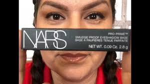 nars pro prime eyeshadows base primer review wear test