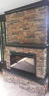 edited antico fireplace project faux stone fireplace