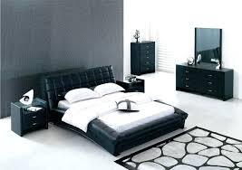 white bed black furniture. Decoration Ideas Black Furniture Decorating And White Bedroom Together With Leather Bed Also Grey Dark