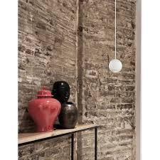 besar led white ball pendant lamp