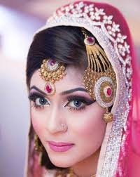 exquisite bridal makeup by ms sadia moyeen la belle