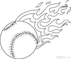 Rouge The Bat Coloring Pages Baseball Page Cremzempme