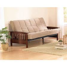 Mission Living Room Furniture Better Homes And Gardens Neo Mission Futon Brown Walmartcom