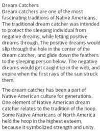 The Story Of Dream Catchers Story behind Dream Catchers Crafts Creative Ideas Pinterest 4