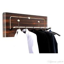 2018 new wall mounted coat rack european creative use for hotel home decor solid wooden clothes racks ebony grain from yu0119 200 0 dhgate com