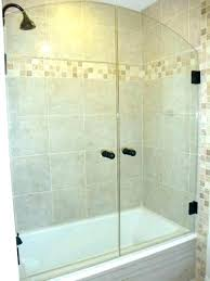 shower curtain and glass door shower curtain or glass door beautify shower curtain over glass door