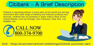 City Bank Customer Care Toll Free Phone Number