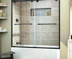 frameless shower door installation home depot bathtub doors stylish amazing clear bathtubs the in with levity