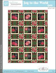 Free Quilting Patterns - Quilted Christmas & Quilting Treasures Joy to the World Free Quilt Pattern Adamdwight.com