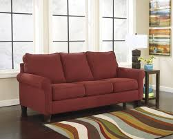 compelling modern maroon soft fabric queen sofa for living room by fea upholstered design comfortable queen sleeper sofa