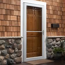 Door: Magnificent storm door ideas Storm Doors At Lowes, Double ...