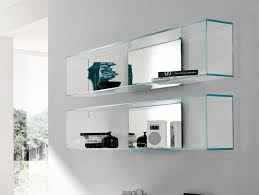 ... Wall Units, Mesmerizing Glass Wall Units Display Cabinet With Glass  Doors Floating Glass Shelves: ...