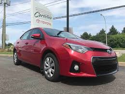 Used 2015 Toyota Corolla S in Gatineau - Used inventory - Villa ...