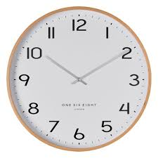 olivia wall clock by one six eight