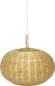 Lamp Rotan Rond Large Little Lofts Homedeconl