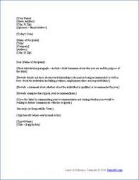 Immigration Letter Of Recommendation Sample Reference Letter For Immigration From Employer Resume Reference