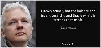 Bitcoin Quote New Juilan Assange Bitcoin Quote Steemit