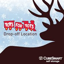 cubesmart is continuing its annual parion in the toys for tots program we are proud to announce that over 450 s will be paring in the
