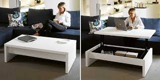 They are cocktail tables that convert, alter, or shift into a particular form. More Functions In A Compact Design Convertible Coffee Tables