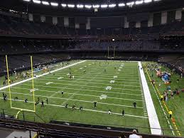 Saints Superdome Virtual Seating Chart Mercedes Benz Superdome View From Loge Level 322 Vivid Seats
