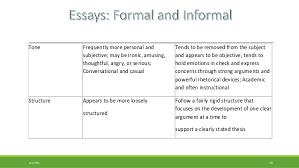 very formal essay formal informal english engvid