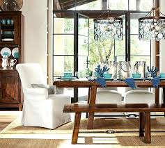 pottery barn dining set pottery barn dining table reviews