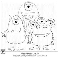Small Picture Monsters Coloring Page Monsters Child and Scary monsters
