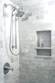 shower niche ideas how to build a tile subway shower niche