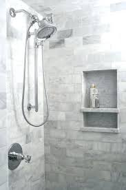 shower niche ideas how to build a tile subway shower niche