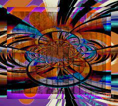 The 6th Dimension Digital Art by Leslie Revels