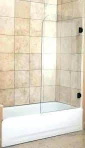 showers shower splash guard bathtub spill installed on show