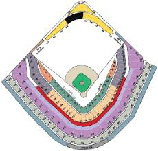 Cubs Wrigley Field Seating Chart Wrigley Field Cubs Park Weegham Park Historical Analysis