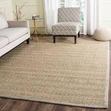 safavieh casual natural fiber natural grey seagrass area rug 8 x 10