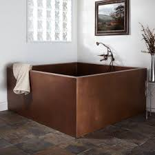 Bathroom Design  Marvelous Asian Style Bathroom Vanities Asian Square Japanese Soaking Tub