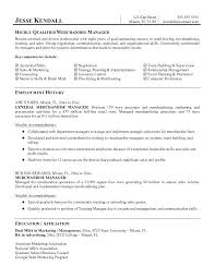 Visual Merchandising Manager Resume Samples Examples Breathelight Co