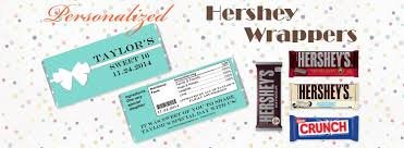 hershey candy bar wrapper personalized candy bar wrappers and hersheys chocolate bars