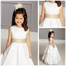 Dress Patterns For Toddlers Extraordinary Free Shipping White Lace Back Open Flower Girl Dress Patterns