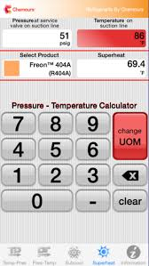 Mo99 Pressure Temperature Chart Chemours Pt Calc On The App Store