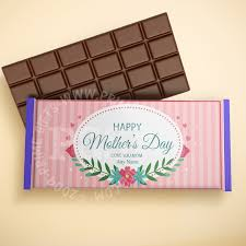 send personalised pink stripes chocolate for mother to stan prime gifts stan