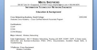 Information Technology Network Engineer Sample Resume Format In Word