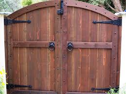 wooden gates and fences ideas