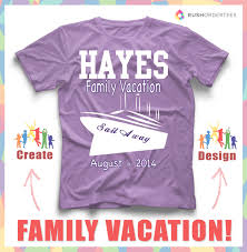 Family Shirt Design Template Sail Away With Your Family Wearing Some Awesome Custom T