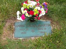 Annie Laurie Purvis Martin (1883-1962) - Find A Grave Memorial