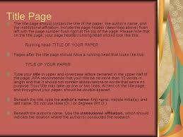 apa format english sections your essay should include four  3 title