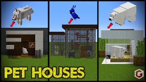 Small Picture 29 Minecraft Pet Animal House Designs todays minecraft build